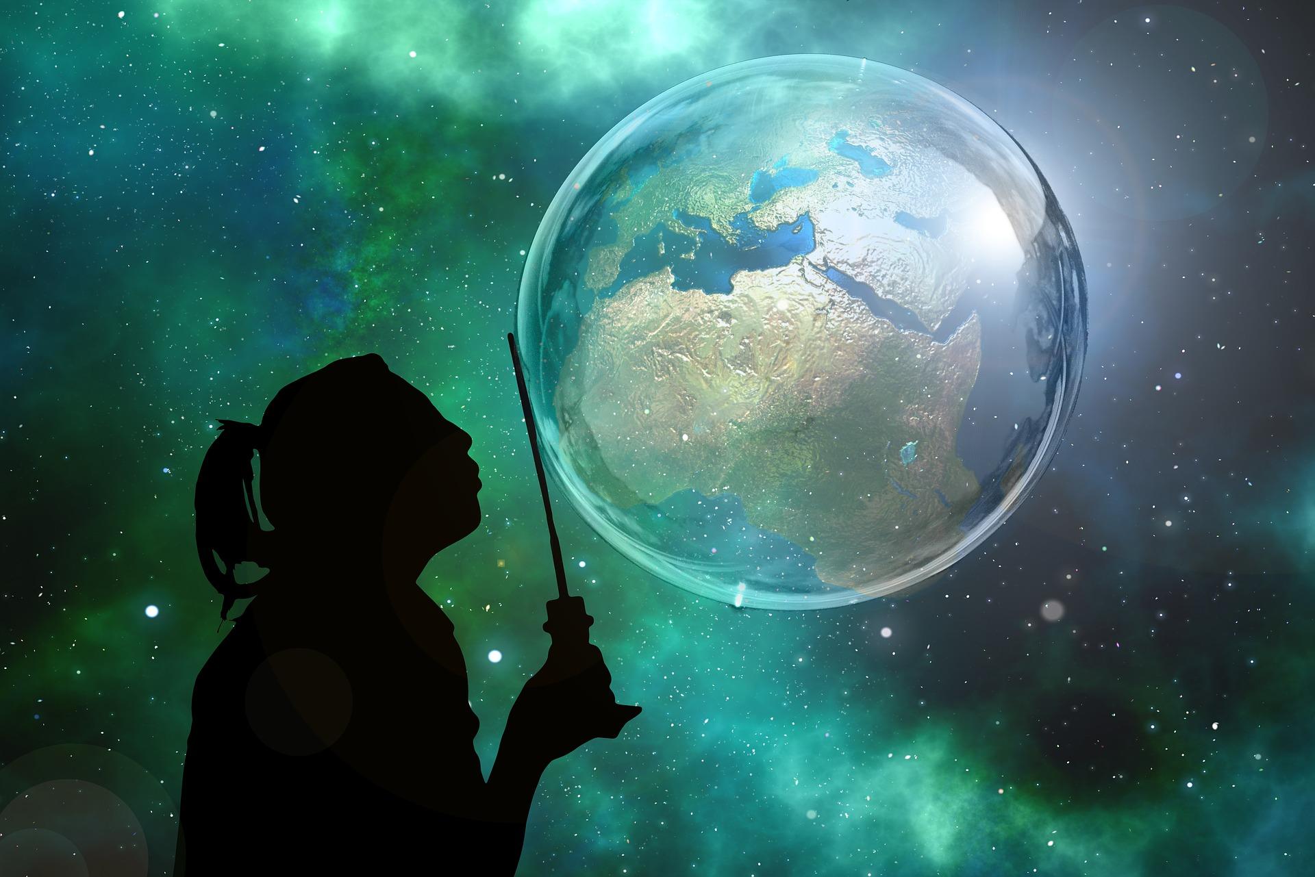 World as a bubble